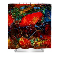 Valley  In  Provence Shower Curtain by Miroslav Stojkovic