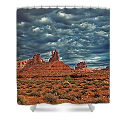 Valley Of The Gods Shower Curtain by Robert Bales