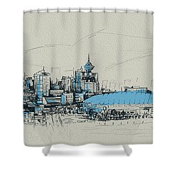 Vancouver Art 008 Shower Curtain by Catf