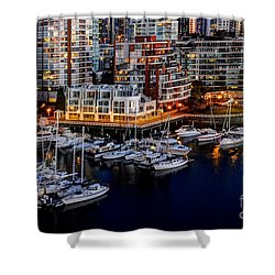 Vancouver British Columbia 10 Shower Curtain by Bob Christopher
