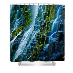 Veiled Wall Shower Curtain by Inge Johnsson