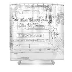 Verde Valley Olive Oil Arizona Shower Curtain by Janice Rae Pariza