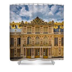 Versailles Courtyard Shower Curtain by Inge Johnsson