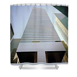Vertigo Shower Curtain by Shaun Higson