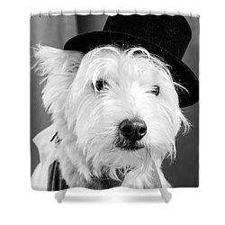 Veteran Vaudeville Stage Actor Shower Curtain by Edward Fielding
