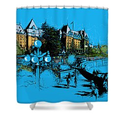 Victoria Art 002 Shower Curtain by Catf