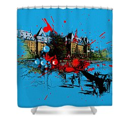 Victoria Art 003 Shower Curtain by Catf