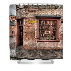 Victorian Corner Shop Shower Curtain by Adrian Evans