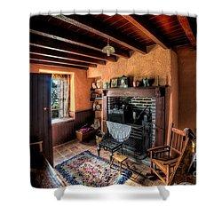 Victorian Cottage Shower Curtain by Adrian Evans