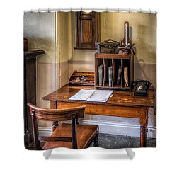 Victorian Medical Office Shower Curtain by Adrian Evans