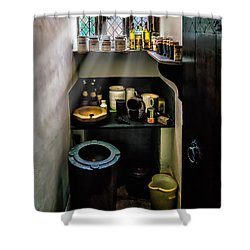 Victorian Pantry Shower Curtain by Adrian Evans