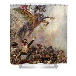 Victory Shower Curtain by Jean-Baptiste Edouard Detaille