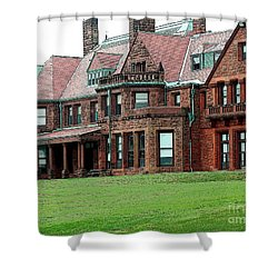 Villa Shower Curtain by Kathleen Struckle