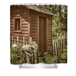 Vintage Garden Shower Curtain by Margie Hurwich