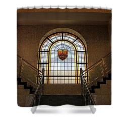 Vintage Stained Glass 1 Shower Curtain by Andrew Fare
