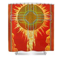 Visitation Shower Curtain by Alan Johnson