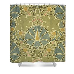 Voisey The Saladin Shower Curtain by William Morris