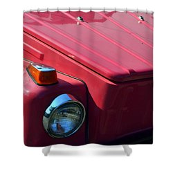 Volkswagen Thing Shower Curtain by Michelle Calkins