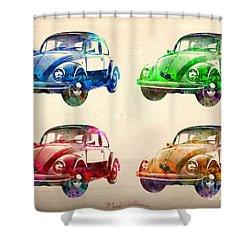 Vw 2 Shower Curtain by Mark Ashkenazi