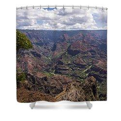 Waimea Canyon 5 - Kauai Hawaii Shower Curtain by Brian Harig