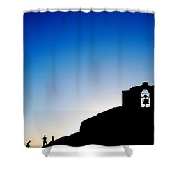 Waiting For The Sun II Shower Curtain by Hannes Cmarits