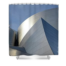 Walt Disney Concert Hall 14 Shower Curtain by Bob Christopher