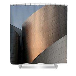 Walt Disney Concert Hall 15 Shower Curtain by Bob Christopher