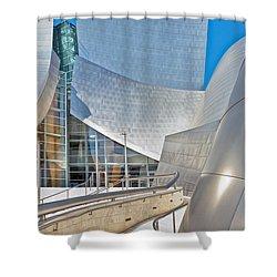 Walt Disney Concert Hall Los Angeles Ca 2 Shower Curtain by David Zanzinger