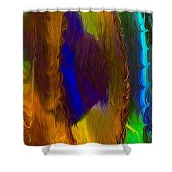 Wandering Eye Shower Curtain by Omaste Witkowski