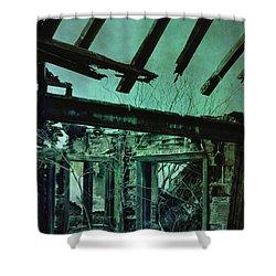 War Torn Shower Curtain by Margie Hurwich
