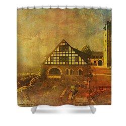 Wartburg Castle Shower Curtain by Catf