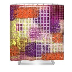 Washi Papers 1 Shower Curtain by Delphimages Photo Creations