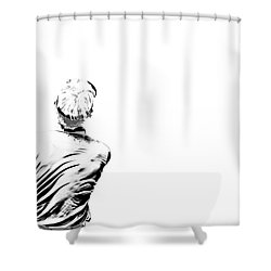 Watching And Hoping Shower Curtain by Karol Livote