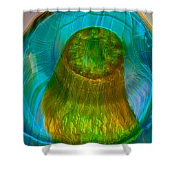 Water Realm Shower Curtain by Omaste Witkowski