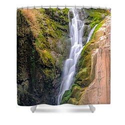 Summer Waterfall Shower Curtain by Alexandre Martins