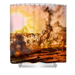 Wave Crasher La Jolla By Diana Sainz Shower Curtain by Diana Sainz