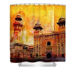 Wazir Khan Mosque Shower Curtain by Catf