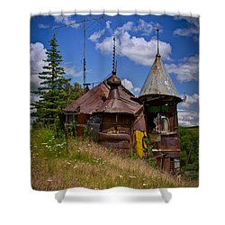We Are Not In Kansas Anymore Shower Curtain by David Patterson