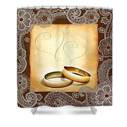 Wedding Memories V1a Classic Shower Curtain by Bedros Awak