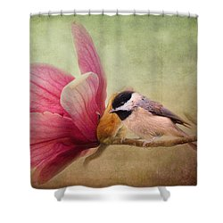 Welcome Spring Shower Curtain by Jai Johnson