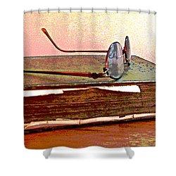 Well Read Shower Curtain by Barbara McDevitt