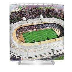 Wembley Stadium Shower Curtain by Kevin Fletcher