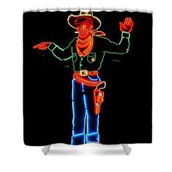 Wendover Willie Shower Curtain by Jeff Swan