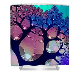 Whimsical Forest Shower Curtain by Anastasiya Malakhova