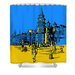 Whistler Art 002 Shower Curtain by Catf