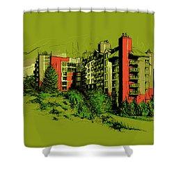 Whistler Art 003 Shower Curtain by Catf