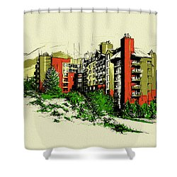 Whistler Art 004 Shower Curtain by Catf