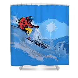 Whistler Art 008 Shower Curtain by Catf