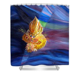 Who Me? What Birdie? Shower Curtain by LaVonne Hand