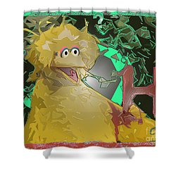 Who The Hell Is Next Shower Curtain by Feile Case
